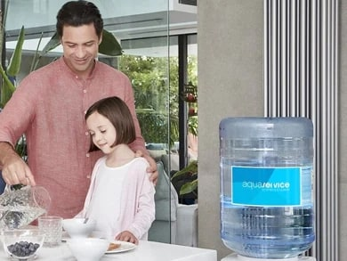 Aquaservice quenches growing thirst for home water delivery